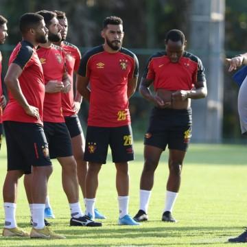 Sport realiza último treino antes de jogo contra Ponte Preta