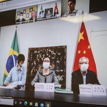 Recife quer estreitar relações com a China para tocar projetos