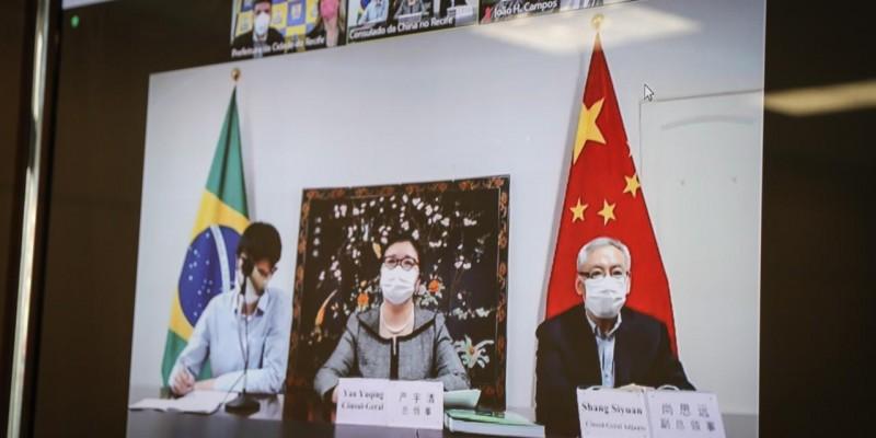 A capital pernambucana foi a terceira do país a possuir um consulado chinês