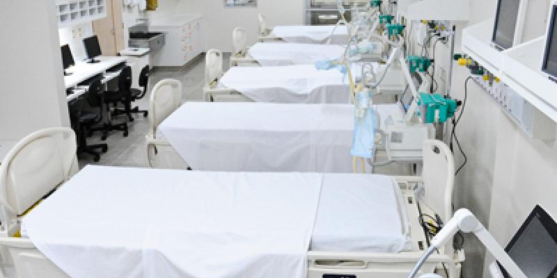 Contando com os de enfermaria o Estado tem 89% ocupados
