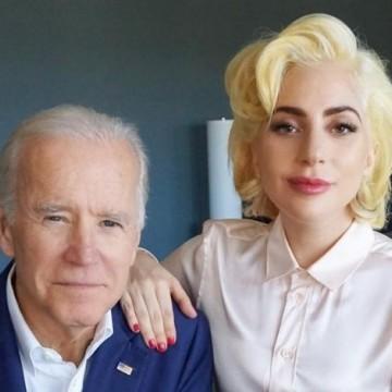 Lady Gaga canta o hino The Star-Spangled Banner na posse de Biden/Harris