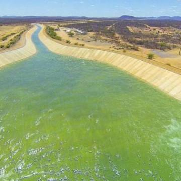 Três cidades são beneficiadas com a chegada das águas da tranposição do Rio São Francisco