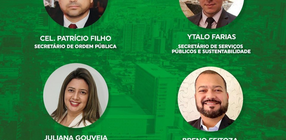 Prefeita Raquel Lyra anuncia novo secretariado