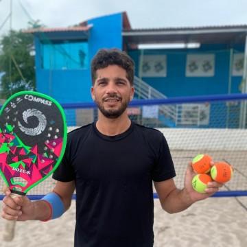 Caruaru recebe o atleta número 1 do ranking pernambucano de Beach Tennis, nestepróximo fim de semana