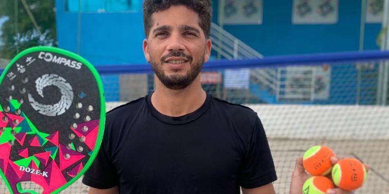 A clínica acontecerá na arena Science Beach Tennis, localizada no Polo Caruaru