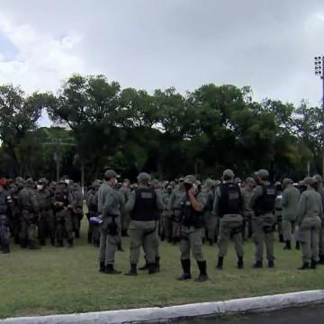 Polícia Militar reforça segurança para as eleições municipais em PE