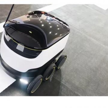 Entrega de comida com robô autônomo no Brasil pode ser realizada em 2020
