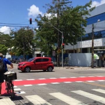 Recife receberá 6,5 km de rotas de ciclovia até o final de maio