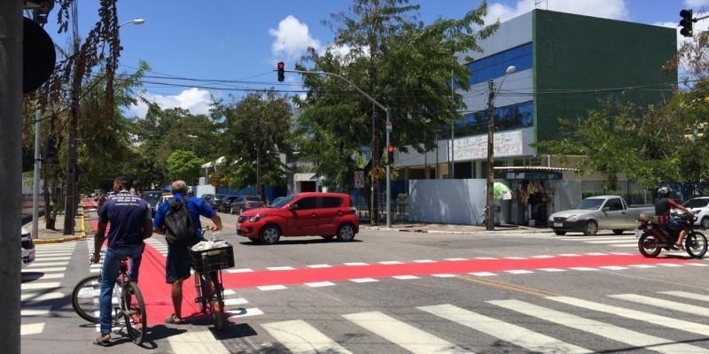 Com as novas entregas, os bairros de Beberibe, Barbalho e Parnamirim serão contemplados e Recife passará a contar com 125,5 km de rotas cicláveis