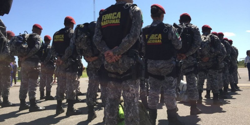 O Ministério da Justiça e Segurança Pública prorrogou por 180 dias a atuação da Força Nacional nos municípios que fazem parte do programa Em Frente Brasil, do Governo Federal
