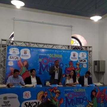 Olinda divulga programação do carnaval 2020