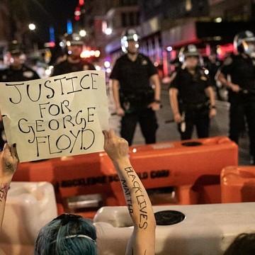 Protestos e Pandemia em Nova York