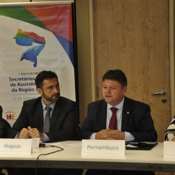 Pernambuco sedia encontro de secretários estaduais de assistência social do Nordeste