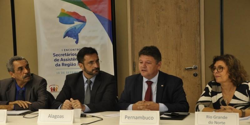 Areunião buscou identificar as demandas regionais específicas, oportunidades de integração regional, compartilhamento de inovações sociais e tecnológicas