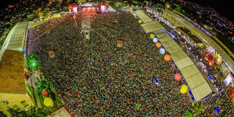 Canhões de luz, ao invés de fogos de artifício vão iluminar o céu de Caruaru