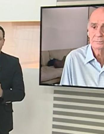 Dr Dráuzio Varela dá dicas e tira dúvidas sobre a CoronaVac durante participação no AB1 da TV Asa Branca