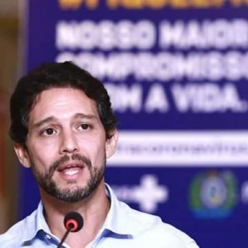 Secretário nega envolvimento com ações policiais violentas durante ato no Recife