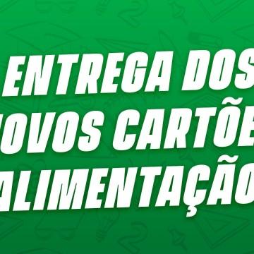 Entrega desegunda remessa dos cartões alimentaçãoem Caruaru