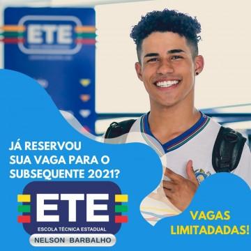 ETE Nelson Barbalho abre inscrições para os cursos de produção de áudio e vídeo, rádio e internet