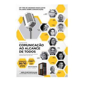Workshop sobre comunicação será realizado em Caruaru