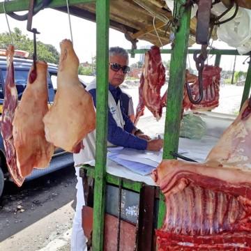 Operação conjunta apreende 100 quilos de carne imprópria para consumo