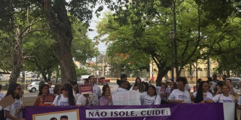 Essa ação faz parte da programação do Janeiro Roxo, que leva atividades e conscientização sobre a hanseníase para vários bairros da capital até o final do mês
