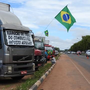 Apesar dos rumores a greve dos caminhoneiros não é percebida