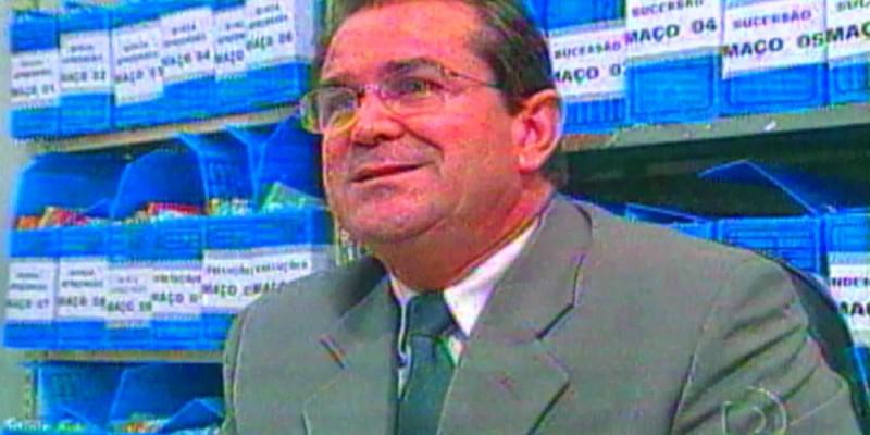 O ex-magistrado foi aposentado pelo Tribunal de Justiça de Pernambuco (TJPE), em 2007, depois de ser preso na Operação Mãos Dadas
