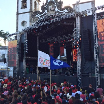 Festival Lula Livre reúne milhares de pessoas