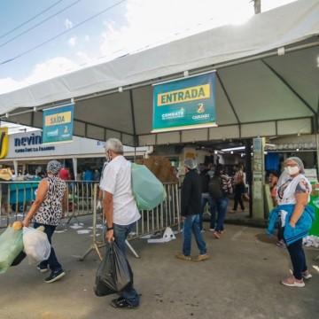 Primeira feira da sulanca em Caruaru após as novas medidas de restrição
