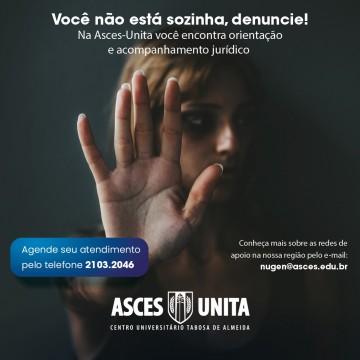 Centro Universitáriodá suporte à mulheres vítimas de violência
