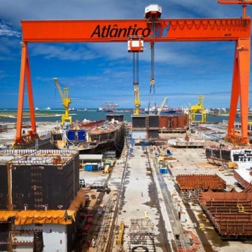 Estaleiros extinguiram 60 mil empregos no Brasil