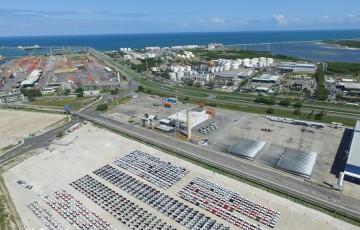 Recorde na movimentação leva Suape a mudar uso do terminal Agrovia