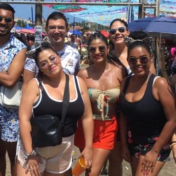 Domingo de Carnaval nas ladeiras de Olinda