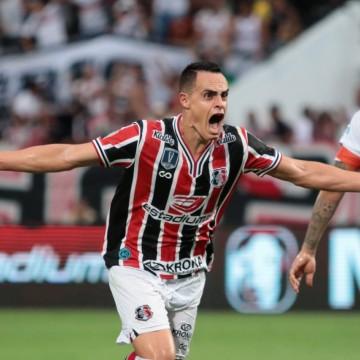 Santa Cruz oficializa renovação de contrato com o atacante Victor Rangel