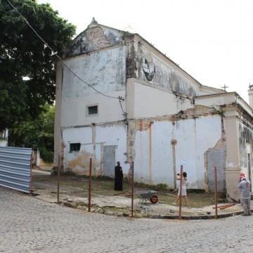 Começa restauração da Igreja de São Pedro, em Olinda