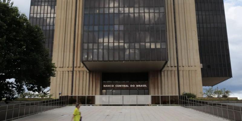 A informação foi divulgada hoje pelo Banco Central