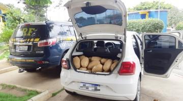 Motorista é detido com 58 Kg de maconha na BR-423 em Garanhuns