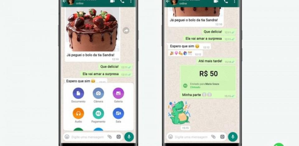 WhatsApp começa a liberar recurso que permite transferir dinheiro pelo app