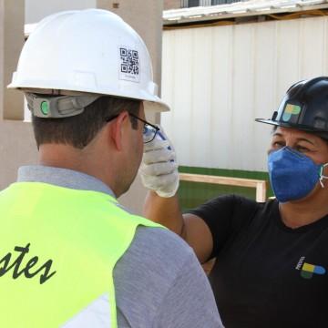 Baixa contaminação na construção civil de Pernambuco traz alívio para a segunda fase da retomada