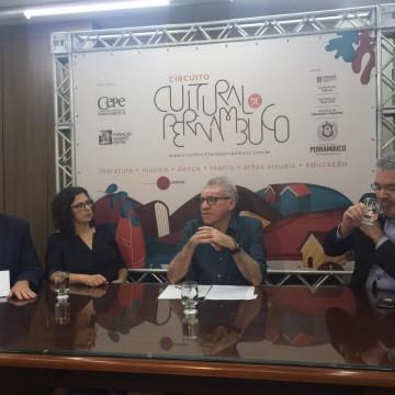 Coletiva de imprensa apresenta detalhes do Circuito Cultural de Pernambuco