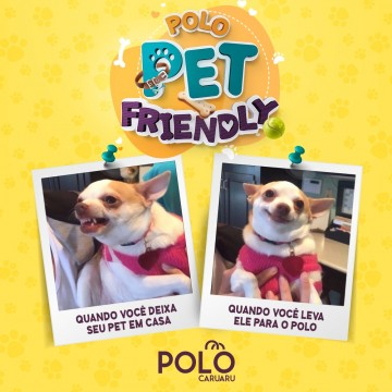 Polo Caruaru aderiu o selo Pet Friendly