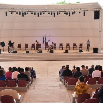 Concha Acústica da UFPE é reinaugurada no aniversário de 75 anos da Universidade