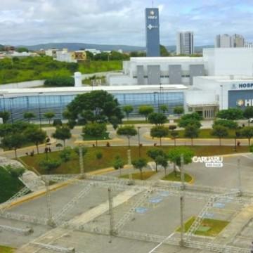 Caruaru atinge 50 leitos de UTI em combate ao coronavírus com entrega da primeira etapa do Hospital de Campanha