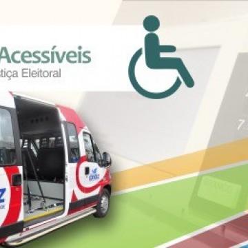 TRE-PE vai disponibilizar transporte gratuito para pessoas com deficiência irem votar