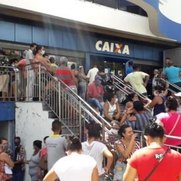 Justiça determina que Polícia Militar fiscalize filas da Caixa