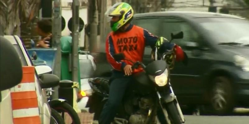 Segundo levantamento da Picap, principal startup de transporte de passageiros sobre motos do país, só na plataforma da empresa cadastrados seis mil motociclistas.