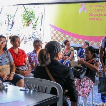 Em julho vão ser ofertadas mais de 1.800 vagas para exames de mamografia no Recife