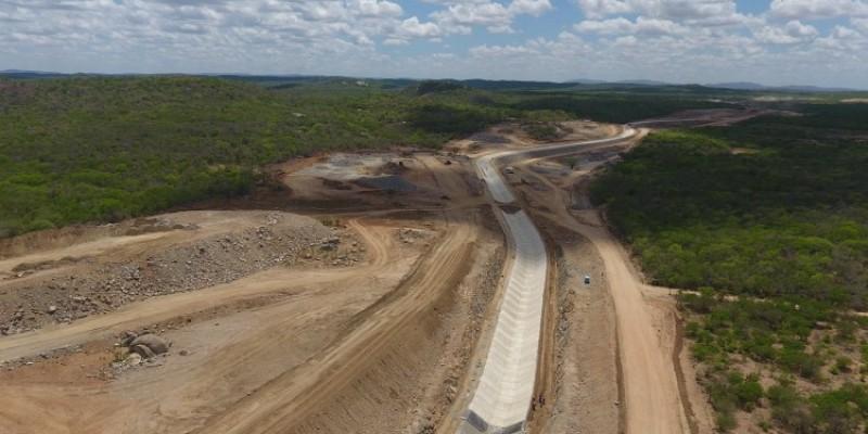 O Ramal deve levar água do Projeto de Integração do Rio São Francisco à região de maior escassez hídrica no estado nordestino