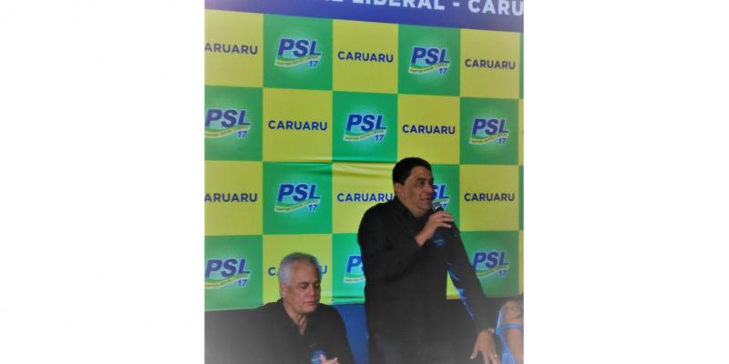 Manoel Santos  é presidente Municipal do PSL